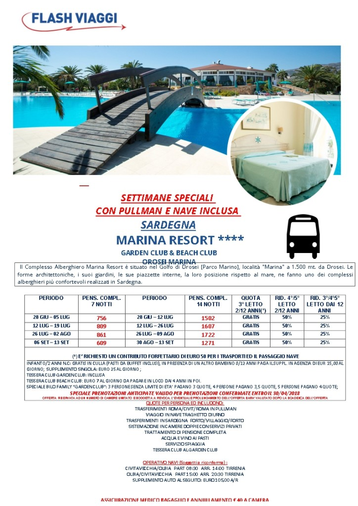 SAR-MARINA RESORT - SETT SPEC